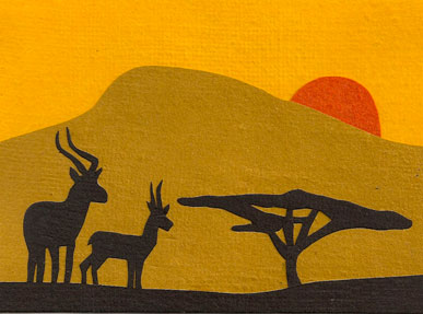 Sunset Antelopes