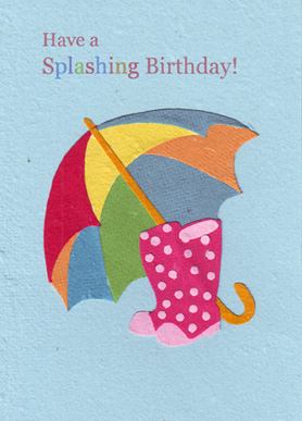 Splashing Birthday