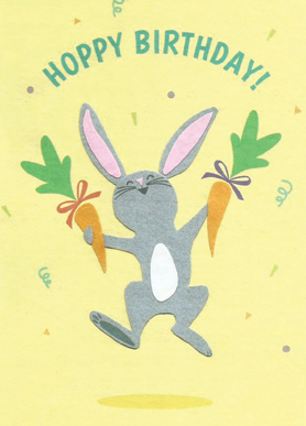 Hoppy Rabbit Birthday