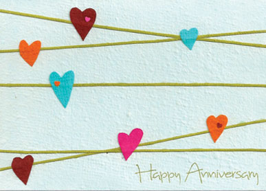 cards from africa anniversary hearts 03 025 3 99