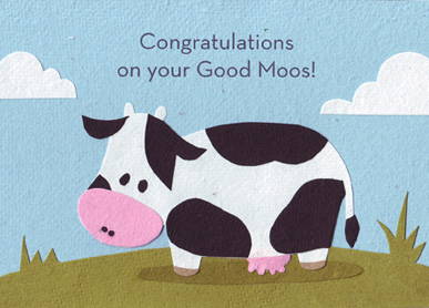 Good Moos Congratulations
