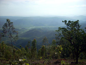 Rwanda is known for its rolling landscape and is called