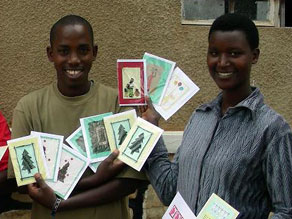 We have a wide range of cards for all occasions. Partner with us to create critical jobs in Rwanda.
